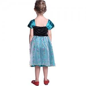 Disfraz Anna Coronación Deluxe detrás