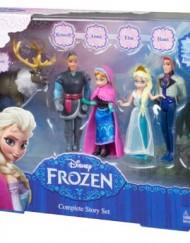 Caja Personajes Frozen set completo