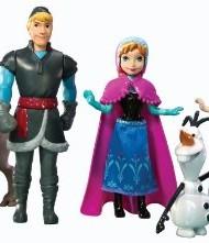 Personajes Frozen set completo