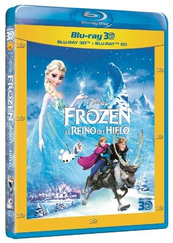 Frozen El reino del hielo 3D+2D Blu-ray portada