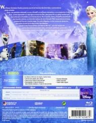 Frozen El reino del hielo Edición Caja Metálica Blu-ray caja contraportada