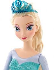 Frozen muñeca Elsa purpurina