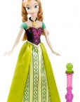 Princesa Anna color change después de mojar su vestido
