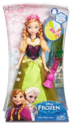 Caja presentación princesa Anna color change