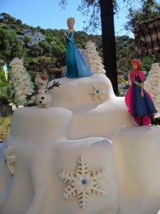 figurita Elsa_Todo Frozen
