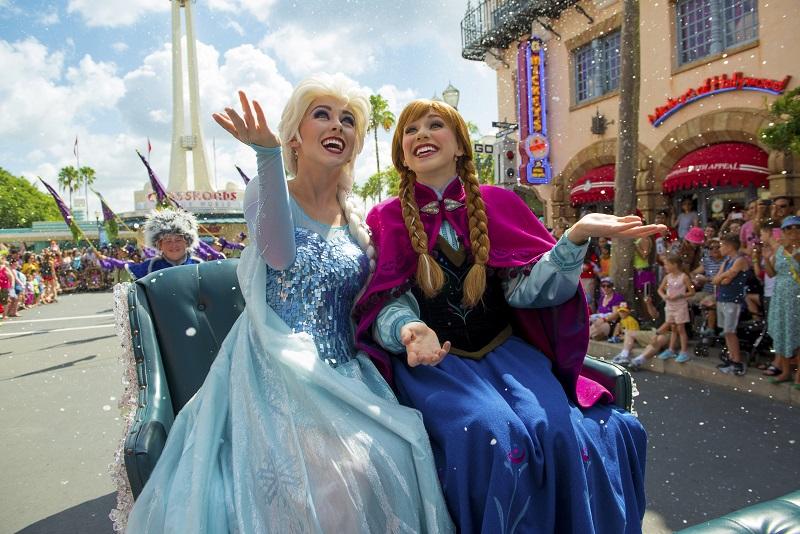 Carruaje Elsa y Anna Disneyland Paris - Todo Frozen