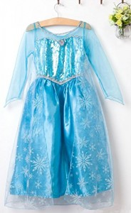 Disfraz Elsa Deluxe con capa
