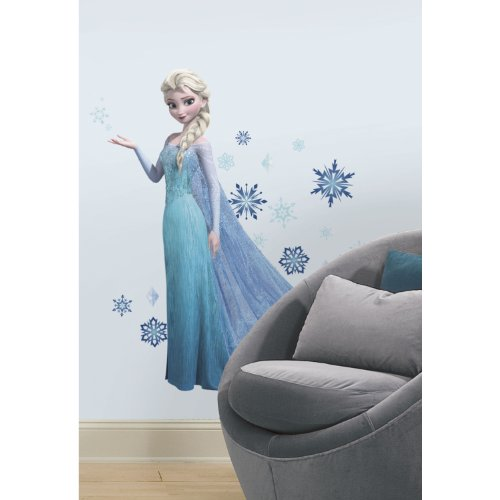 Pegatina de pared Elsa Frozen