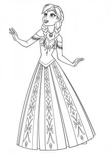 Anna coronacion - Todo Frozen