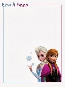 Notas Anna y Elsa - Todo Frozen