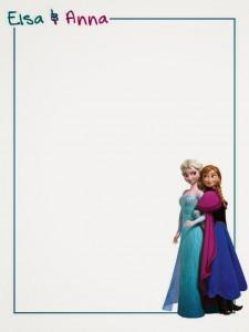 Notas Elsa y Anna - Todo Frozen