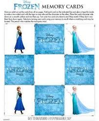 Tarjetas memory Elsa Anna- Todo Frozen
