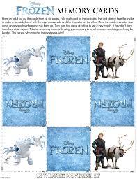 Tarjetas memory Mashmallow - Todo Frozen