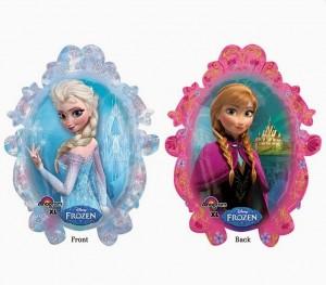 Toppers cupcakes 13 Frozen - Todo Frozen