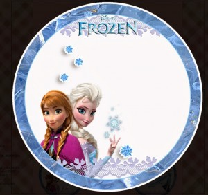 Toppers cupcakes 3 Frozen - Todo Frozen