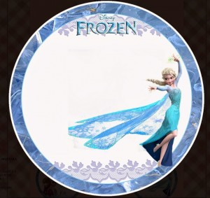 Toppers cupcakes 4 Frozen - Todo Frozen