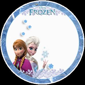 Toppers cupcakes 7 Frozen - Todo Frozen