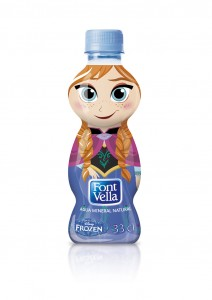 agua water anna - todo frozen