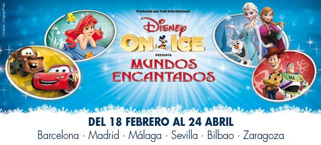 Cartel Disney On Ice España Frozen 2016