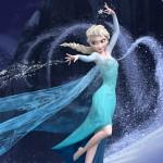 Imagen de Elsa en Frozen lanzando hielo