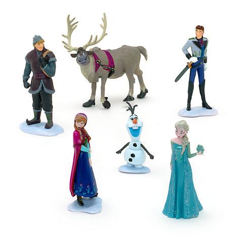 todos los personajes de Frozen en un pack