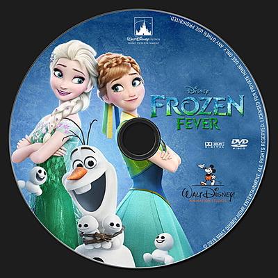 El DVD de Frozen que incluye el corto de Frozen Fever