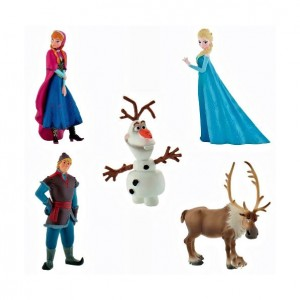 Set de figuras Frozen