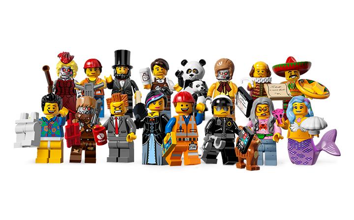 piezas lego muñecos