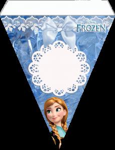 banderin fiesta frozen