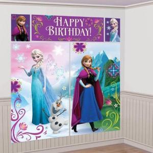 poster cumpleaños frozen