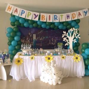 mesa cumpleaños frozen fever