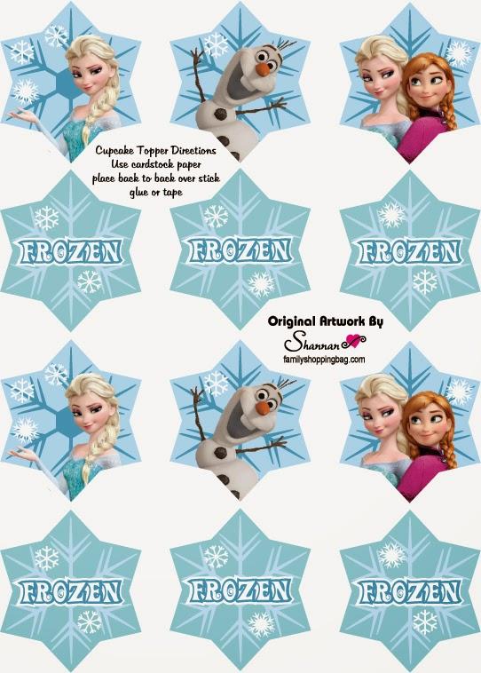 Copos De Nieve Para Decorar Fiesta Frozen.Como Hacer Una Fiesta Frozen Todo Frozen